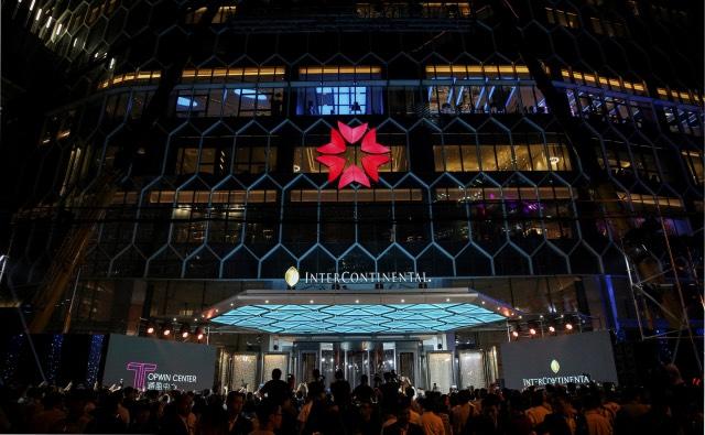 北京三里屯通盈中心洲际®酒店:点亮通盈,耀目未来