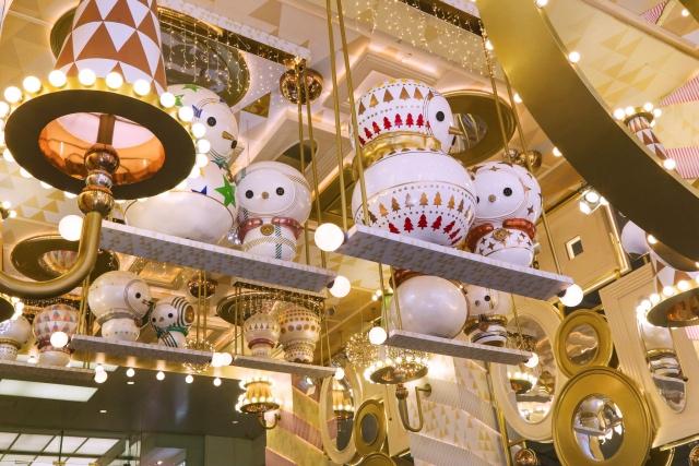 香港海港城:我们的圣诞
