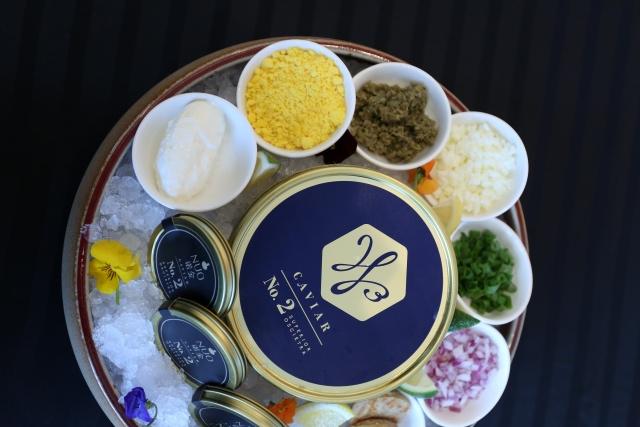 悦尚早午餐缤纷升级:珍馐美味特级奥希特拉鱼子酱