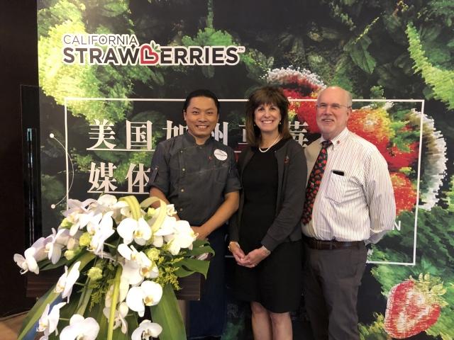 2019美国加州草莓媒体品鉴会在北京顺利举行