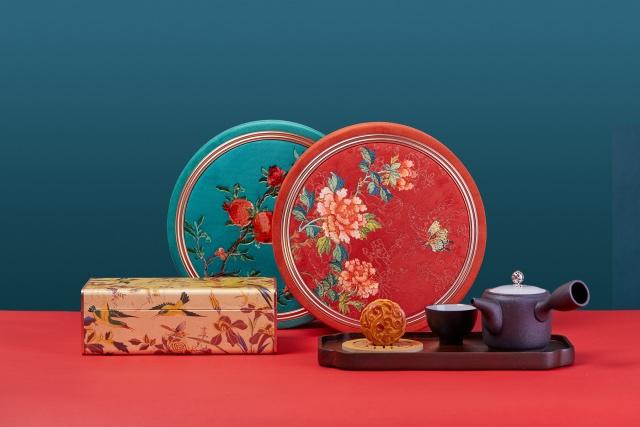 月满情深:北京粤财JW万豪酒店2021年月饼礼盒献礼京城